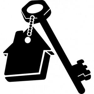 huis-sleutelhanger-met-sleutel_318-41497